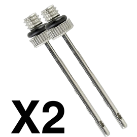 Zastor x2 needles (for balloon inflator) - Handball Shop