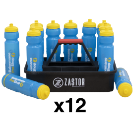 Pack 12 bottles BMPS + bottle rack Zastor - Handball Shop
