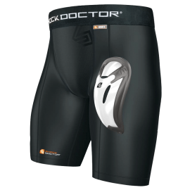 Pantalón Shock Doctor core compression con coquilla