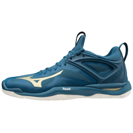 Mizuno Mirage 3 2020 blue/gold - Handball Shop