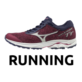 Zapatillas Mizuno Wave Rider tt women running