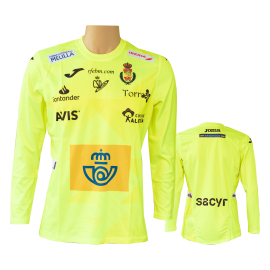 Joma Spanish handball oficial Shirt Yellow 2020 - Handball Shop