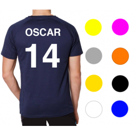 Number and name customize - Handball Shop