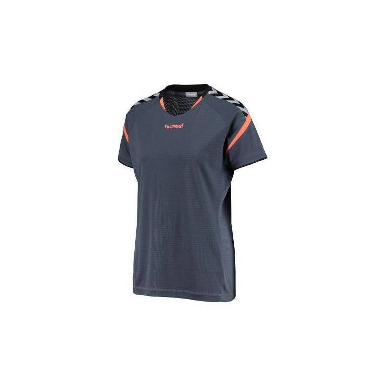 Camiseta Hummel Mujer Auth. Charge SS Poly - Tienda balonmano