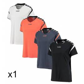 Camiseta Hummel Mujer Auth. Charge SS Poly (Entrega 24h)