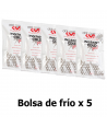 Pack x5 Bolsa de frío instantáneo Ice Cold - Handball Shop
