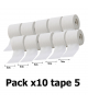 Pack x10 Tape McDavid 5cmclubs