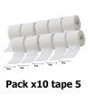 Pack x10 Tape McDavid 5cm - Handball Shop