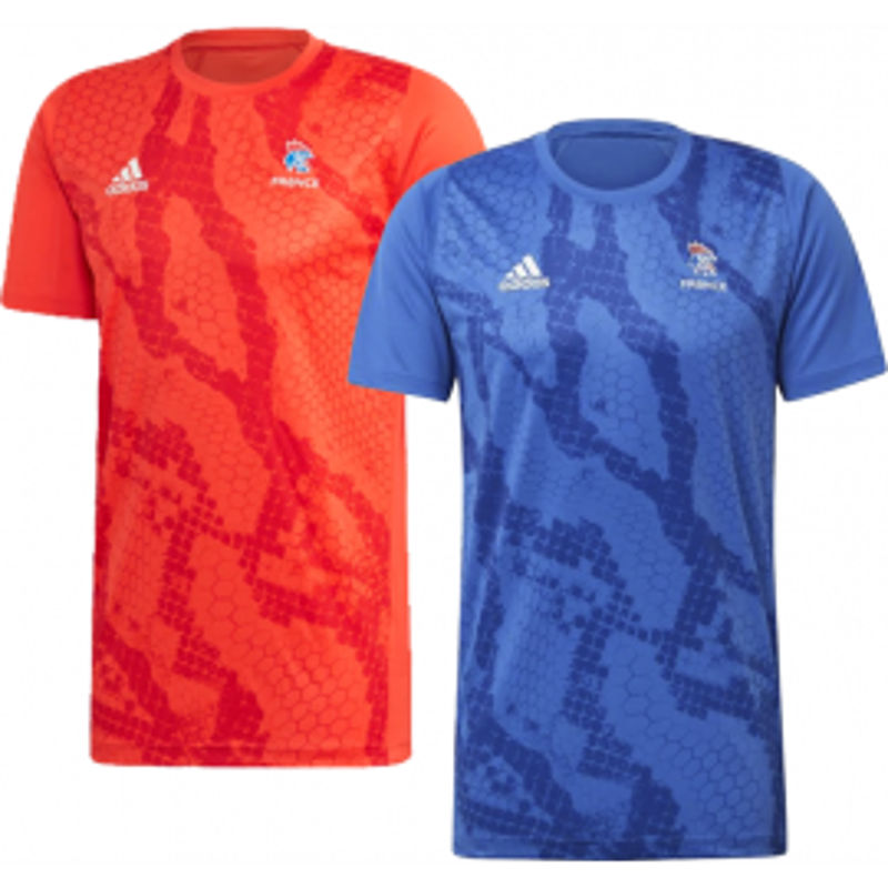 Adidas T-shirt warm up France - Handball Shop