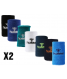 Hummel OLD SCHOOL LARGE WRISTBAND (x2) - Handball Shop