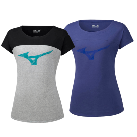 Mizuno Heritage Tee woman - Handball Shop